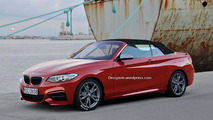BMW M235i Cabrio render 04.11.2013