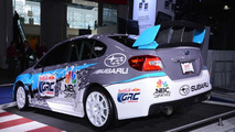 2015 Subaru WRX STI (Rallycross-spec) at 2014 New York Auto Show