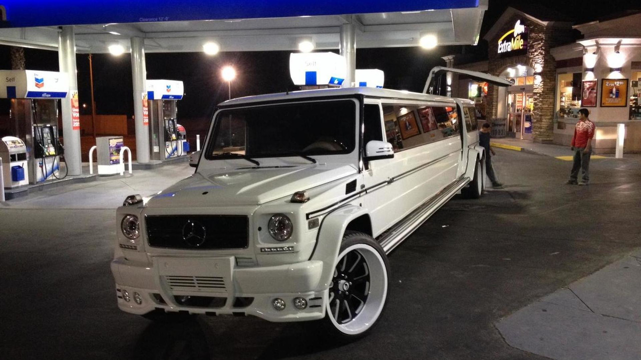 Mercedes-Benz G55 AMG by Platinum Style Limos