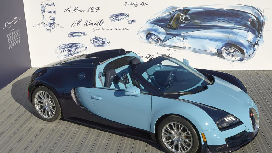 Bugatti Veyron Grand Sport Vitesse Jean-Pierre Wimille Edition debuts at Pebble Beach