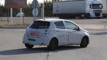 2014 Toyota Yaris Facelift spied