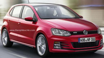 Volkswagen Polo GTI and Polo R renderings by Theophilus Chin