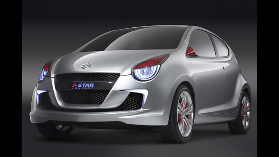 A-Star is born: Weltpremiere des neuen Suzuki-Kleinwagens
