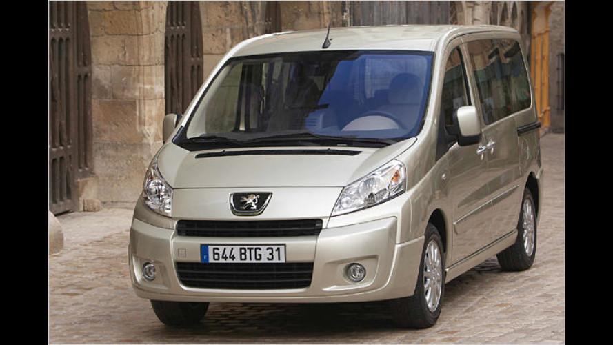 Neuer für Neun: Peugeot Expert Tepee für Familien