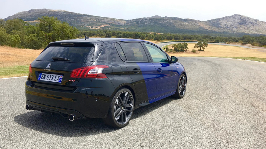2018 peugeot 308 gti first drive the sensible hot hatch. Black Bedroom Furniture Sets. Home Design Ideas