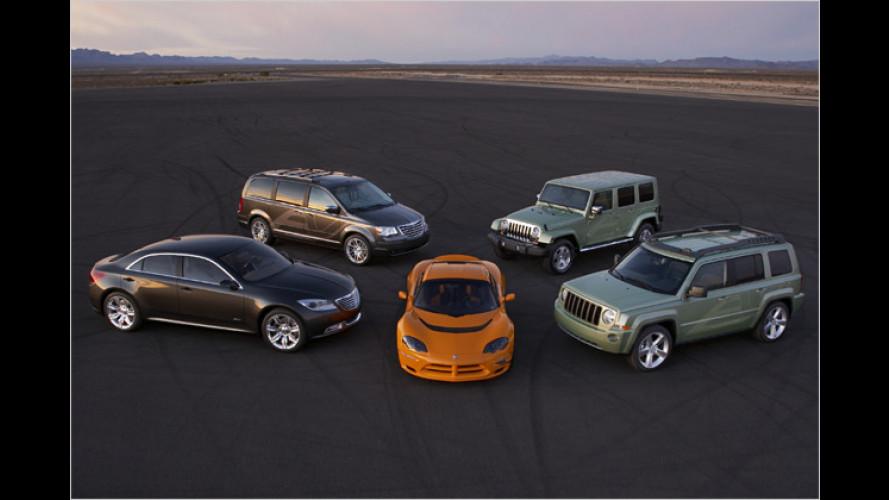 Elektrisch aus der Krise? Neue Chrysler-Prototypen in Detroit