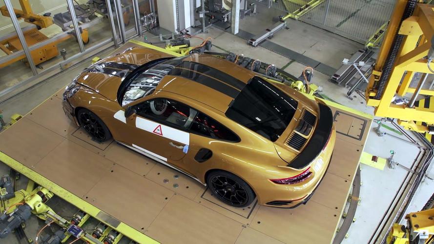 Así construye Porsche el 911 Turbo S Exclusive