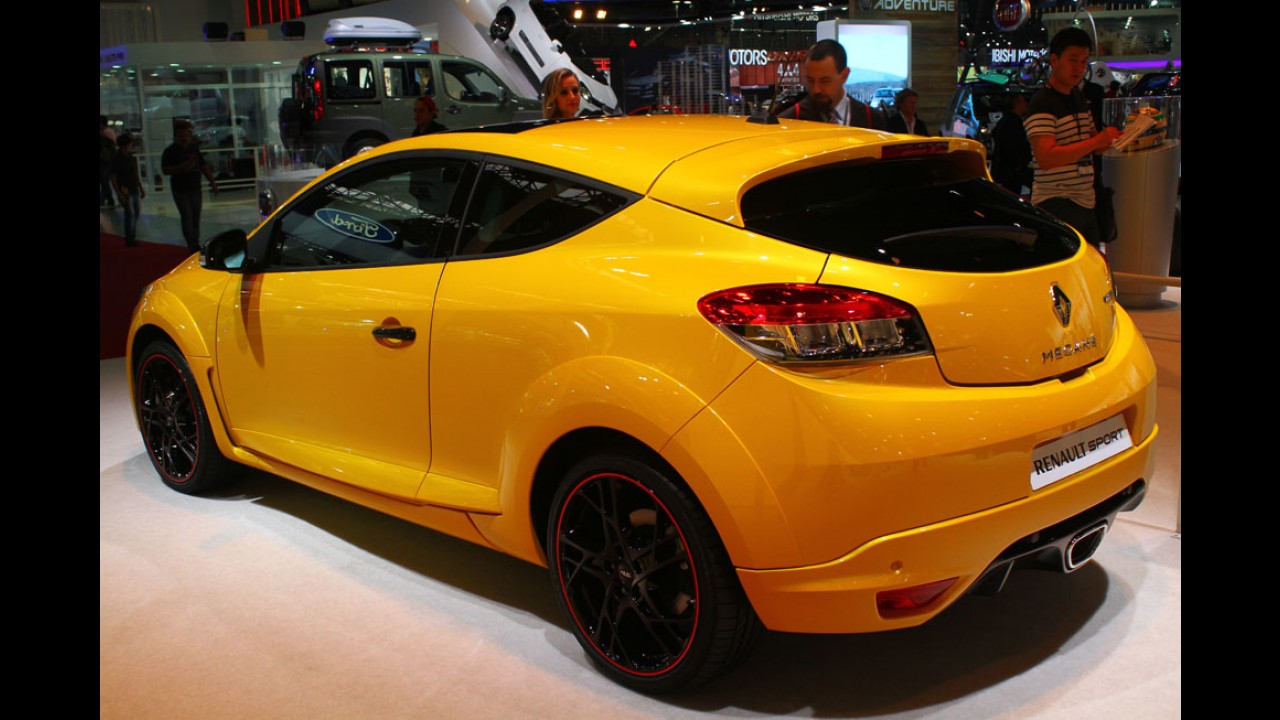 Salão SP: para levantar o moral, Renault mostra Megane RS de 265 cv