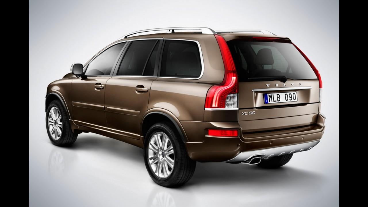 Pré-Frankfurt: Volvo promove mudanças na linha 2012 do XC90
