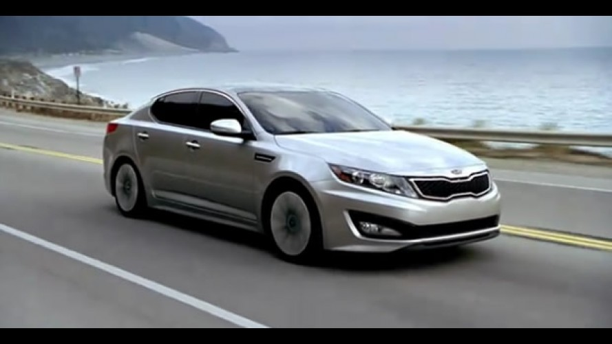 VÍDEO: Kia Optima ganha comercial épico para o Super Bowl
