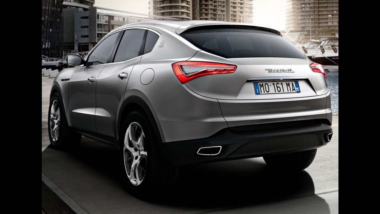 Mudança de planos: Maserati Levante não será baseado no Jeep Grand Cherokee
