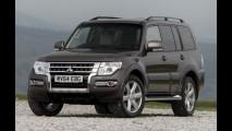 Pajero Full com facelift chega ao Reino Unido antes de desembarcar no Brasil