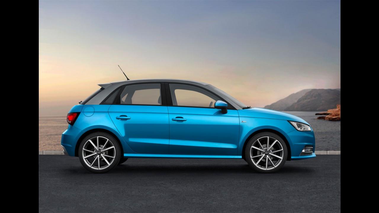 Audi A1 2015: mais detalhes divulgados e preço inicial de R$ 61 mil na Alemanha