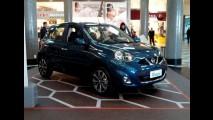 Nissan já exibe New March em SP - veja detalhes e galeria