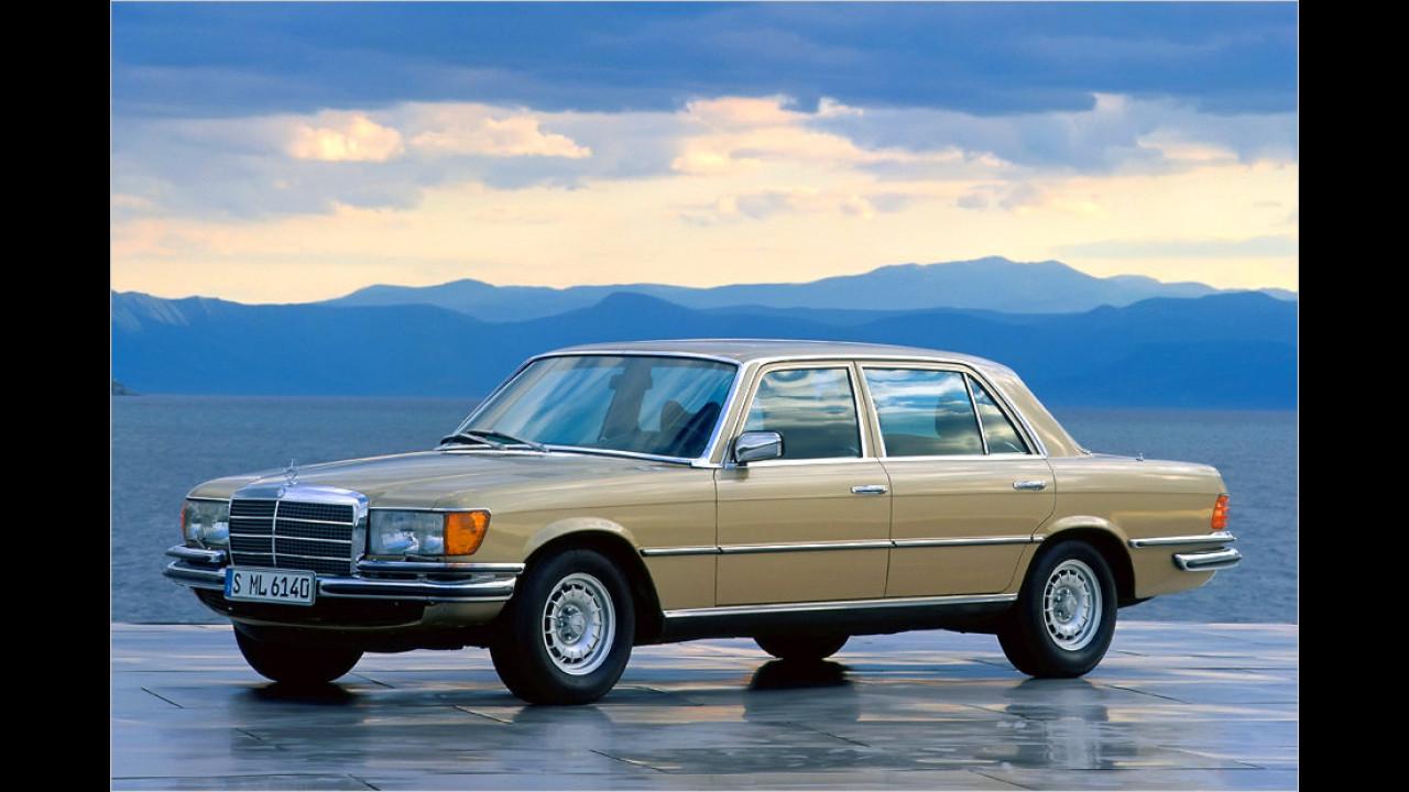 Platz 10: Mercedes Baureihe W 116