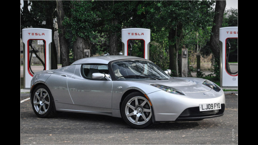 Coys versteigerte zweiten EU-Tesla