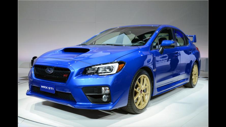 Kommt stark: Subaru WRX STI
