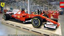 Lego Ferrari Formula One Car