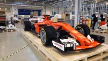 Ferrari SF70H F1 Lego