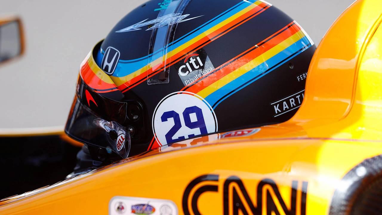 Casco Fernando Alonso GP EE.UU.