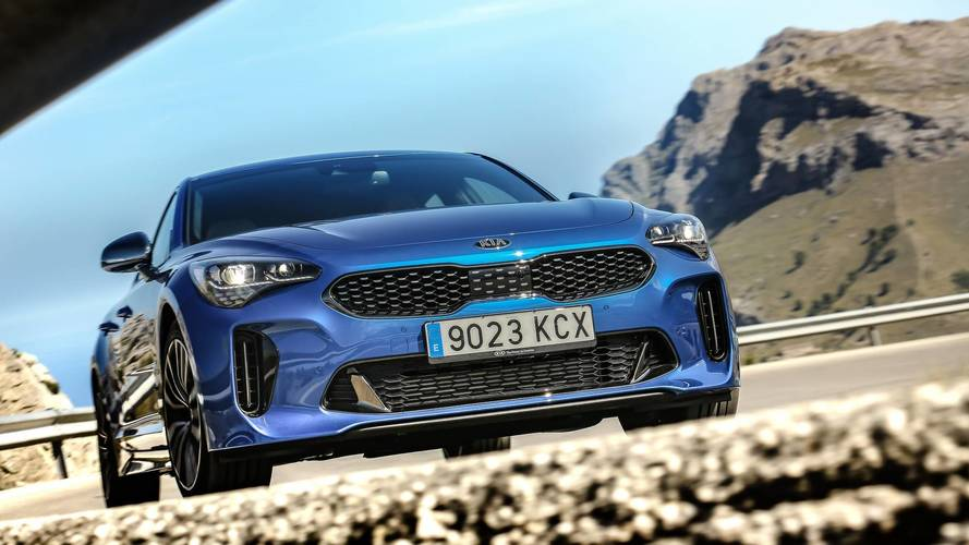 Kia Stinger GT Line Shines In Eye Candy Photos And Video