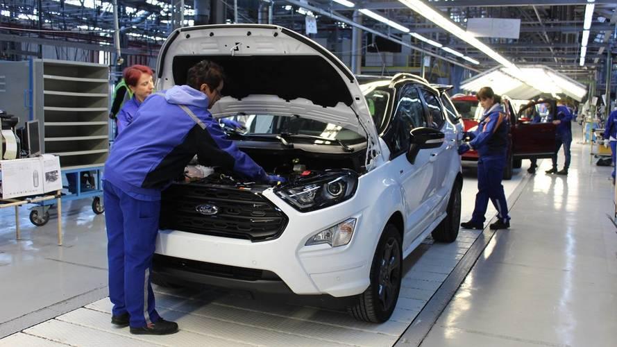 Por demanda crescente, Ford EcoSport começa a ser fabricado na Europa
