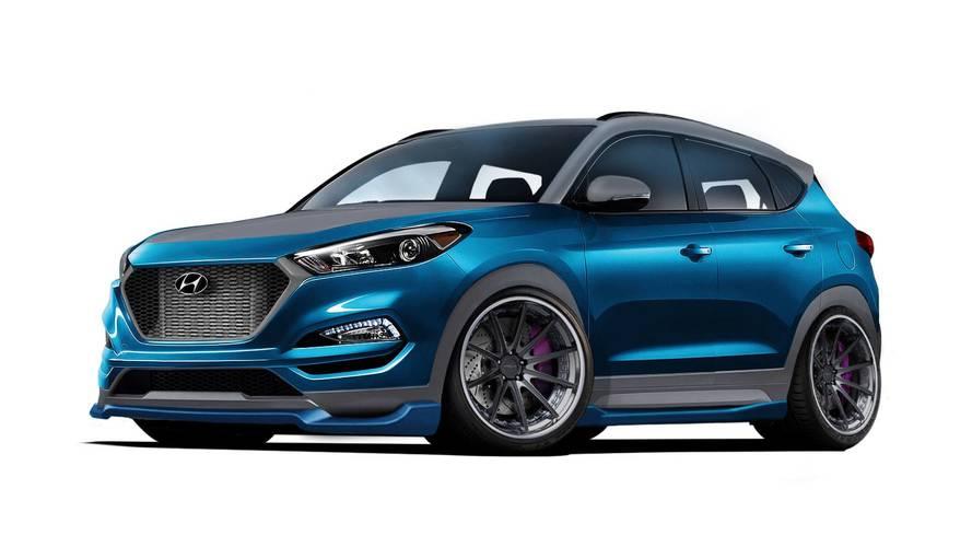 Bu Hyundai Tucson yeni motor modlarına ve yeni bir görünüme sahip