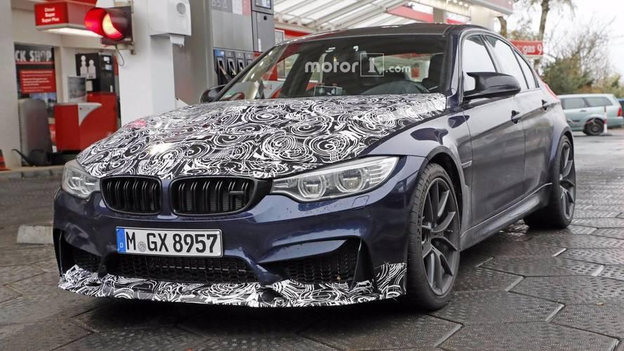 2018 BMW M3 CS, daha güçlü motoruyla görüntülendi