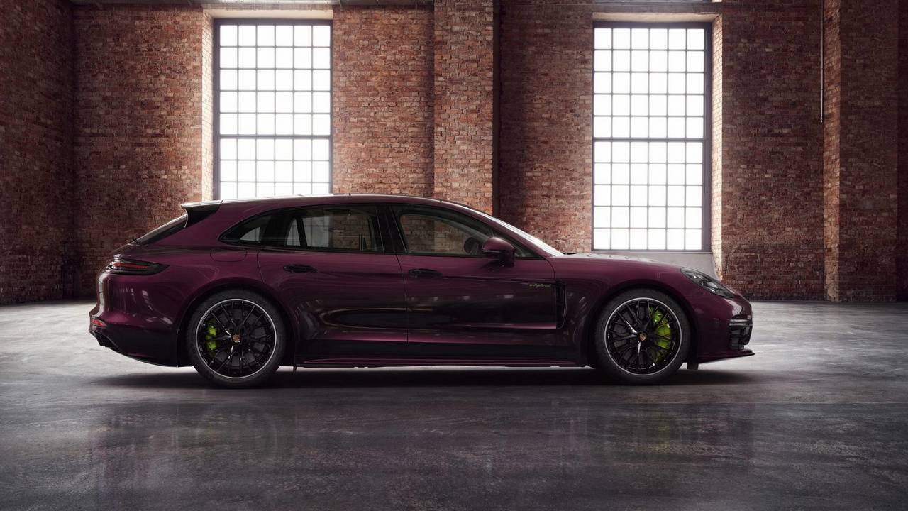 Porsche Will Sell You A Purple Panamera Wagon With
