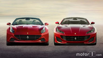 Ferrari Portofino vs California T