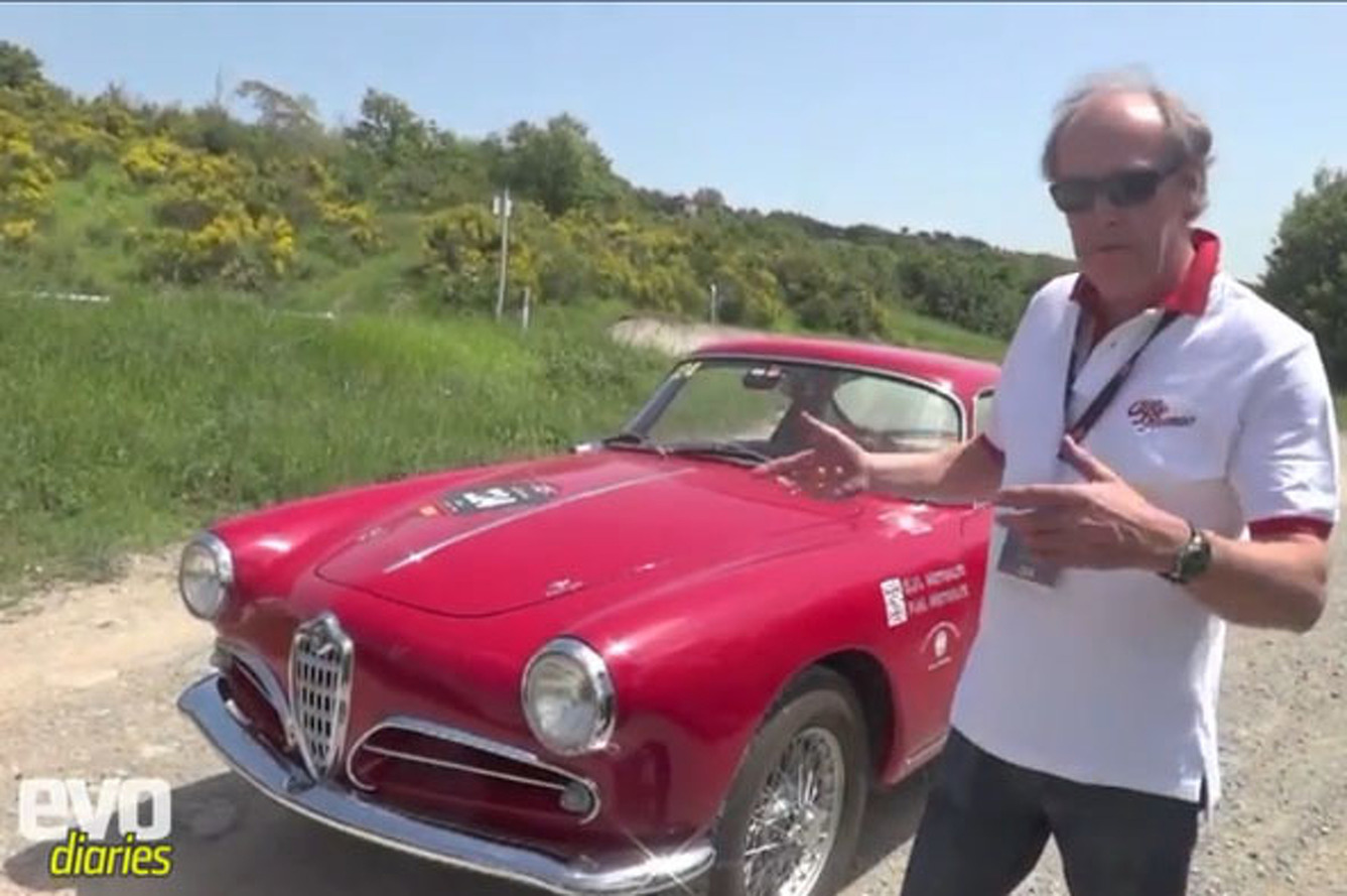 Video: The 2012 Mille Miglia in a 1955 Alfa Romeo