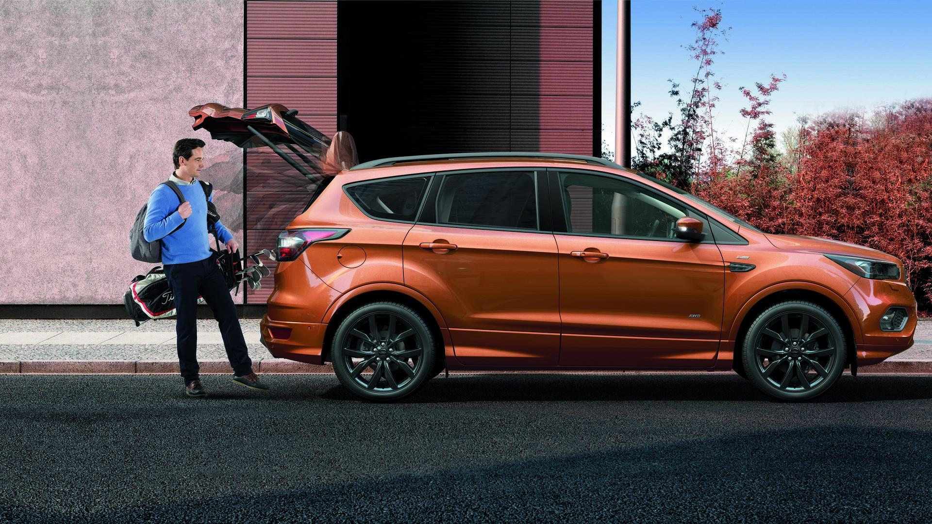 Ford Kuga 2013, 2014, 2015, 2016, 2017, suv, 2 поколение ...