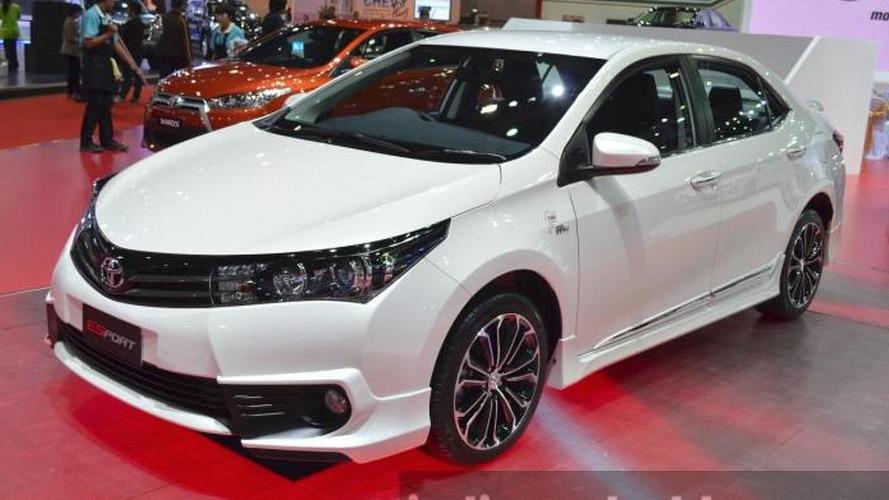 Toyota Corolla ESport Nurburgring Edition debuts at Bangkok Motor Show