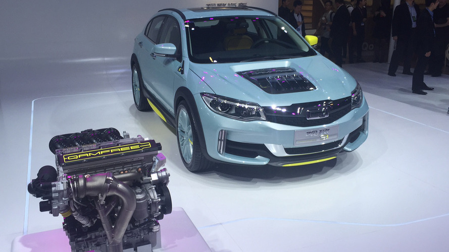 Qoros cam-less valvetrain concept presented in Beijing
