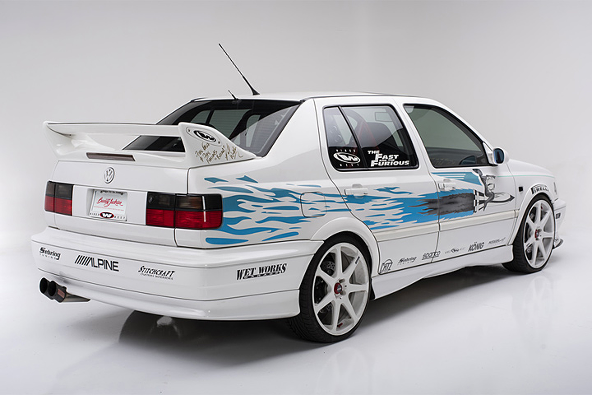 "Jesse's ""Fast and Furious"" Volkswagen Jetta Goes Up for Auction"