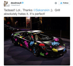 deadmau5 Just Leveled-Up his McLaren 650S Supercar