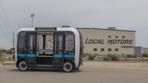 Local Motors reveals Olli, self-driving transport EV that thinks cognitively