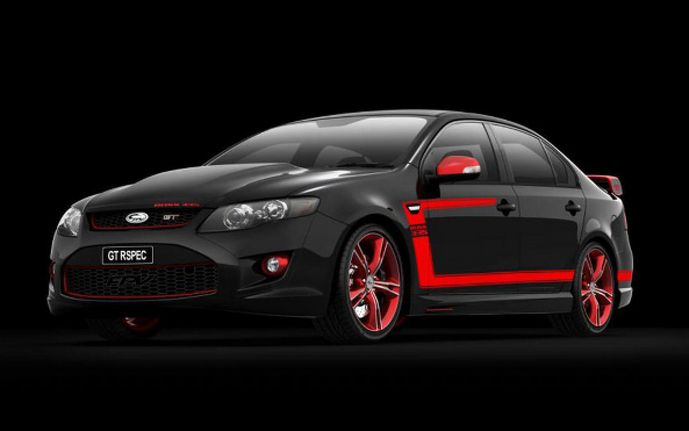 Aussie Muscle: 2012 Ford Falcon FPV GT RSpec