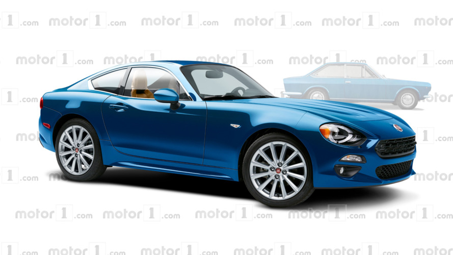 Fiat 124 Coupe may be coming next year with Abarth power