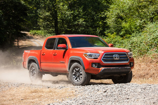 The 2016 Toyota Tacoma Conquers Tough Terrain Like a Champ: First Drive