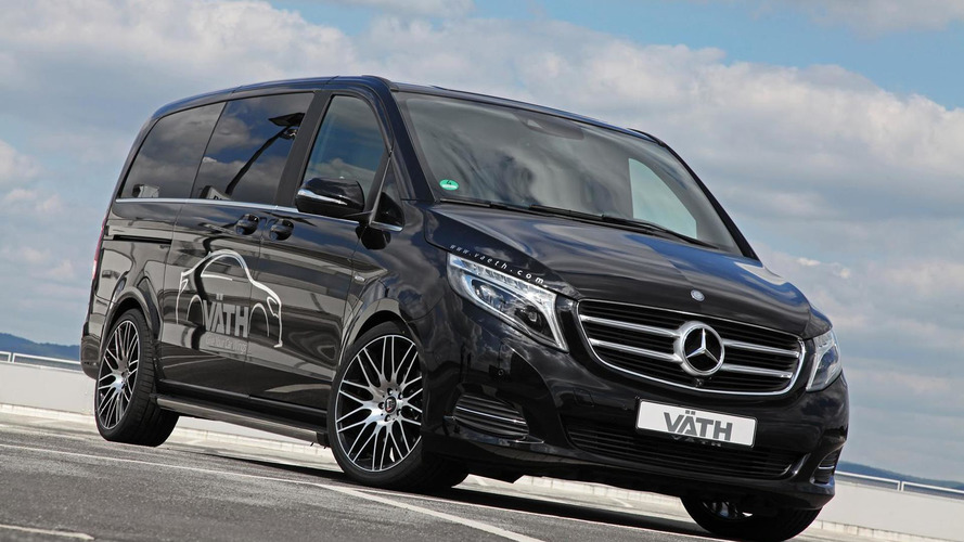 VATH tunes the Mercedes-Benz V-Class to 225 PS and 500 Nm