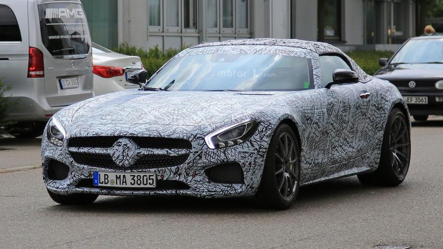 La Mercedes-AMG GT C Roadster effectue sa première sortie