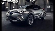 Frankfurt: Toyota C-HR Concept II adianta visual de SUV rival do HR-V