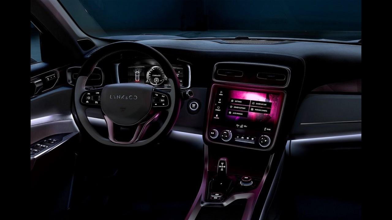 """Filho da Geely e Volvo, Lynk & Co 01 é o """"carro mais conectado do mundo"""" - veja fotos"""