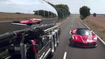 VIDÉO - Ferrari LaFerrari Aperta : teasing avec Sebastian Vettel