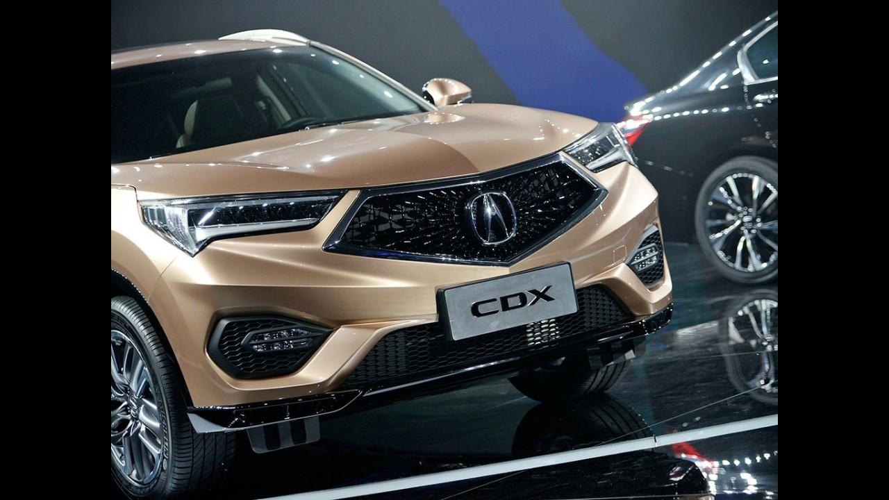 Salão de Pequim: HR-V de luxo, Acura CDX quer peitar GLA e Q3