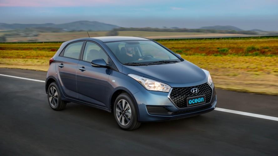 Hyundai reduz ritmo de produção do HB20 para chegada do SUV Creta
