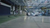 Un gymkhana dans l'usine roumaine de Ford