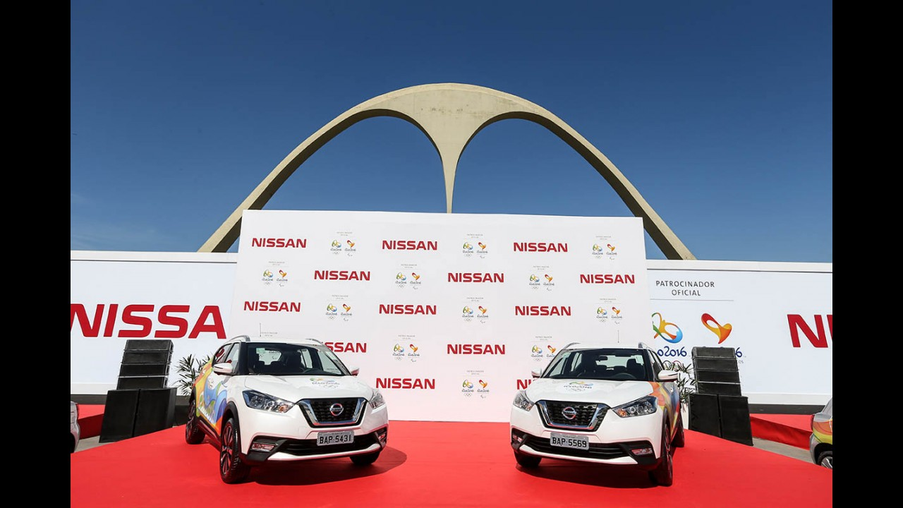 Nissan gastou R$ 800 milhões para patrocinar os Jogos Olímpicos e promover o Kicks