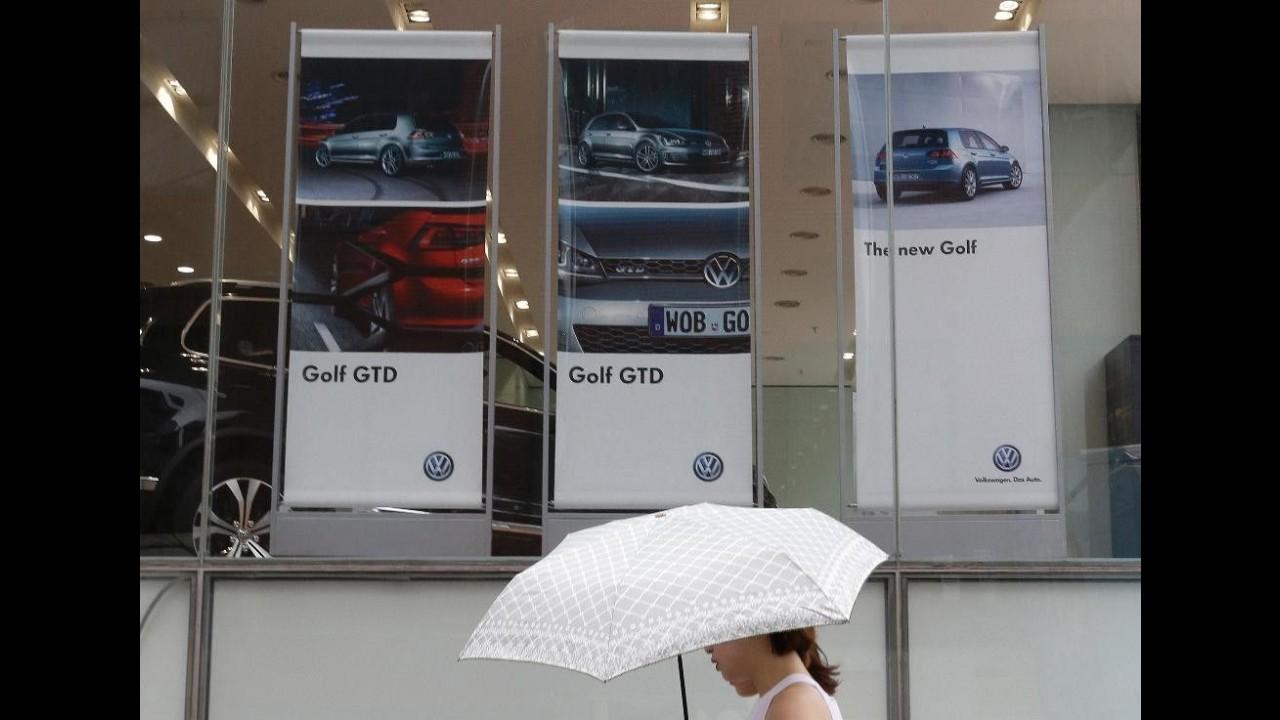 Coreia do Sul suspende a venda de 32 modelos da Volkswagen